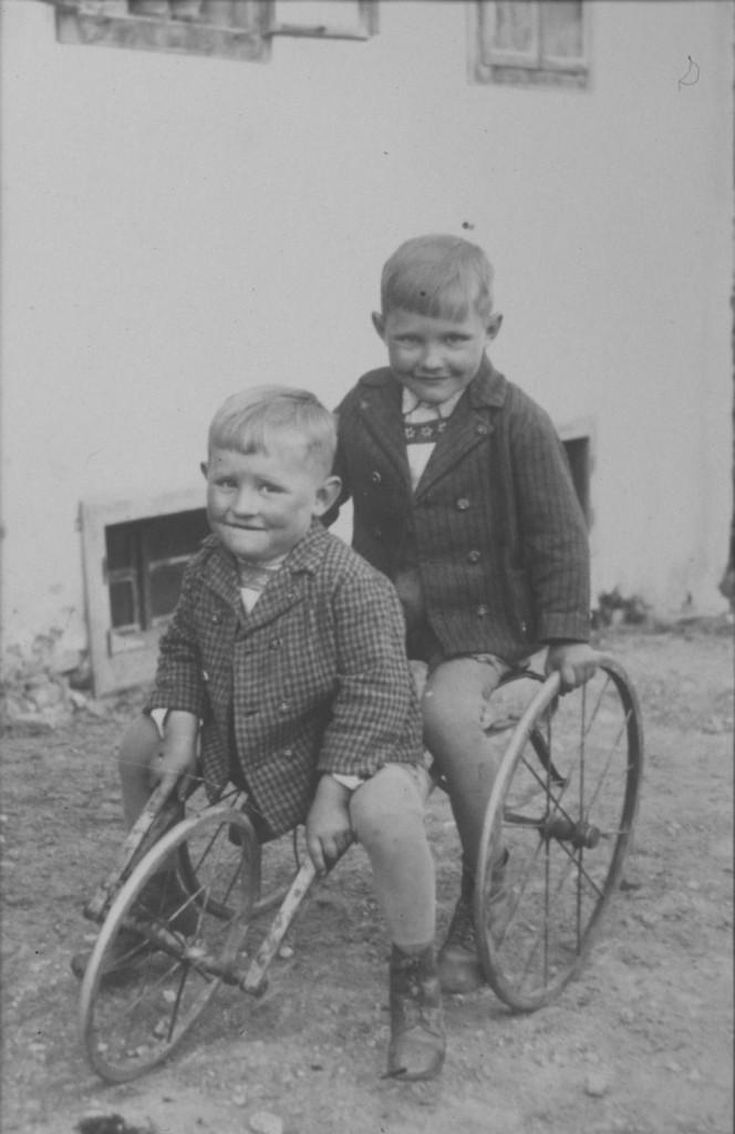 _die zwoa Muehna Buam (Engelbert 17.5.1974 und Herbert 19.11.2010 Seebacher)